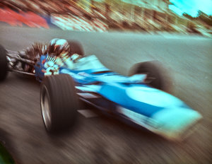 GRAND PRIX PHOTO – Jackie Stewart at Spa-Francorchamps